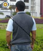 100% Baby Alpaca Classic Vest  - Product id: Mens-Baby-alpaca-Sweater09-11 Photo09