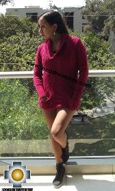 Women Alpaca Sweater Almendra  - Product id: womens-alpaca-sweater15-01 Photo03