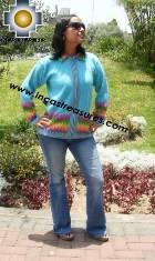 Women alpaca sweater anqa with zipper  - Product id: womens-alpaca-sweater11-02 Photo04
