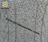 women alpaca sweater gray-irish  - Product id: womens-alpaca-sweater11-08 Photo02