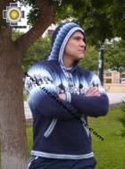 100% Alpaca Men Sweatshirt yaku  - Product id: MENS-SWEATER09-05 Photo03