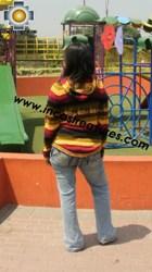 100% Alpaca Women Sweatshirt otorongo  - Product id: women-alpaca-sweater12-04 Photo02