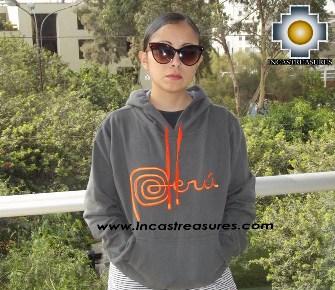 100% Alpaca Women Sweatshirt Peru  - Product id: women-alpaca-sweater13-01 Photo01