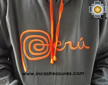 100% Alpaca Women Sweatshirt Peru  - Product id: women-alpaca-sweater13-01 Photo04