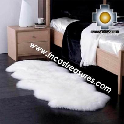 100% baby alpaca fur Rug Bedside  - Product id: ALPACA-FUR-RUG-13-05 Photo01