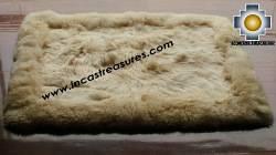 100% Alpaca baby alpaca round fur rug suri colors - Product id: ALPACAFURRUG10-11 Photo03