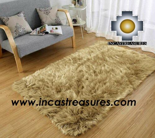 Wholesale Alpaca Fur Rugs Geometric Alpaca Wholesale Fur Rugs