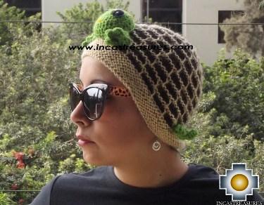 Alpaca Animal Hat Cute Turtle -  Product id: Alpaca-Hats13-06 Photo03