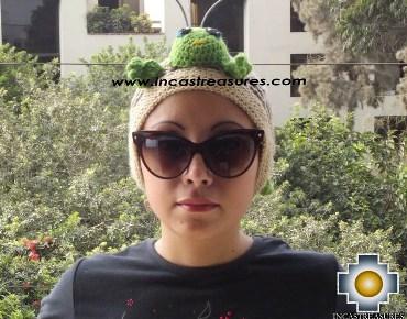 Alpaca Animal Hat Cute Turtle -  Product id: Alpaca-Hats13-06 Photo02