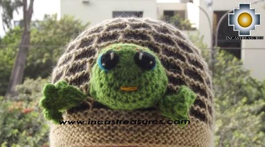 Alpaca Animal Hat Cute Turtle -  Product id: Alpaca-Hats13-06 Photo01
