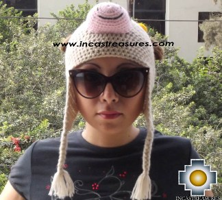 Alpaca Animal Hat Happy Cow -  Product id: Alpaca-Hats13-07 Photo01