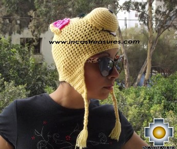 Alpaca Animal Hat Lady Pig -  Product id: Alpaca-Hats13-08 Photo03