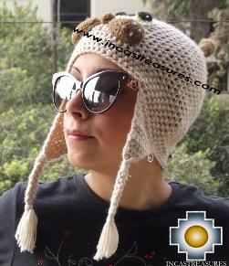 Alpaca Animal Hat Mister Cat -  Product id: Alpaca-Hats13-09 Photo03