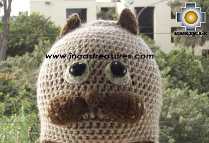 Alpaca Animal Hat Mister Cat -  Product id: Alpaca-Hats13-09 Photo04