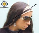 Alpaca Headband Andean Design Cream -  Product id: Alpaca-Headband10-01 Photo03