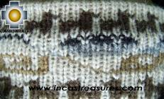 Alpaca Headband Andean Design Cream -  Product id: Alpaca-Headband10-01 Photo02