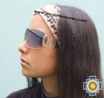 Alpaca Headband Andean Design Cream -  Product id: Alpaca-Headband10-01 Photo01