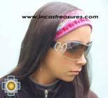alpaca headbands andean designs