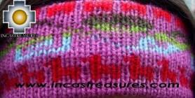 Alpaca Headband Andean Design grape -  Product id: Alpaca-Headband10-02 Photo02