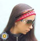 Alpaca Headband Andean Design red -  Product id: Alpaca-Headband10-04 Photo03