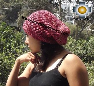 Alpaca Winter Hat totorita - available in 12 colors - Product id: Alpaca-Hats15-06 Photo02