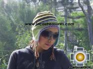 Chullo Hat Andean Design andenes -  Product id: Alpaca-Hats09-19 Photo02
