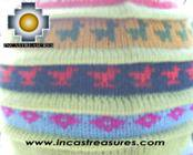 Chullo Hat Andean Design andenes -  Product id: Alpaca-Hats09-19 Photo03