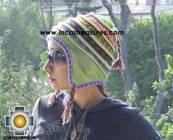 Chullo Hat Andean Design andenes -  Product id: Alpaca-Hats09-19 Photo01