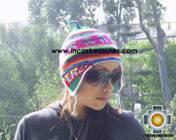 Chullo Hat Andean Design juliaca-peru -  Product id: Alpaca-Hats09-18 Photo02