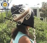 Alpaca Wool Reversible Hat locumba - Product id: Alpaca-Hats11-03 Photo01