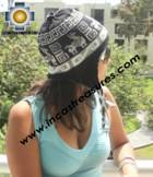 Alpaca Wool Reversible Hat omate - Product id: Alpaca-Hats11-04 Photo03