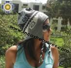 Alpaca Wool Reversible Hat omate - Product id: Alpaca-Hats11-04 Photo01