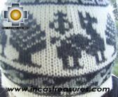 Alpaca Wool Hat Classic Design Llama tullu -  Product id: Alpaca-Hats09-08 Photo03