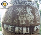 Alpaca Wool Hat Classic Design peru earth -  Product id: Alpaca-Hats09-10 Photo03
