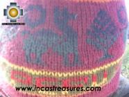 Alpaca Wool Hat Classic Design peru kulli -  Product id: Alpaca-Hats09-11 Photo03