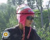 Alpaca Wool Hat Classic Design peru pukayay -  Product id: Alpaca-Hats09-12 Photo02