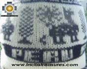 Alpaca Wool Hat Classic Design peru tullu -  Product id: Alpaca-Hats09-14 Photo03