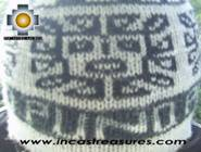 Alpaca Wool Reversible Hat Achachila Inti - Product id: Alpaca-Hats09-25 Photo03