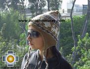 Alpaca Wool Reversible Hat Achachila Inti - Product id: Alpaca-Hats09-25 Photo04