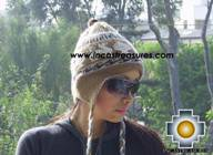 Alpaca Wool Reversible Hat Achachila Inti - Product id: Alpaca-Hats09-25 Photo05