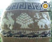 Alpaca Wool Reversible Hat Achachila Inti - Product id: Alpaca-Hats09-25 Photo06