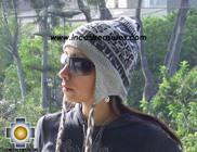 Alpaca Wool Reversible Hat Achachila Inti - Product id: Alpaca-Hats09-25 Photo01