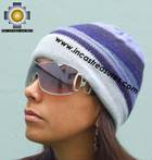Alpaca Wool Reversible Hat andean sky - Product id: Alpaca-Hats09-47 Photo02