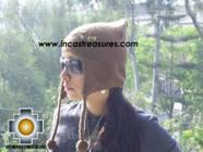 Alpaca Wool Hat with Embroidery Kantuta chaxcra  - Product id: Alpaca-Hats09-04 Photo01