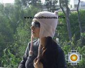 Alpaca Wool Hat with Embroidery Kantuta tikanchasqa  - Product id: Alpaca-Hats09-05 Photo01