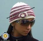 Alpaca Wool Hat worms marbling -  Product id: Alpaca-Hats09-44 Photo03