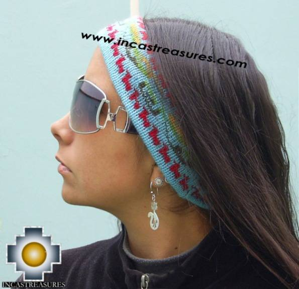 Alpaca Headband Skyblue
