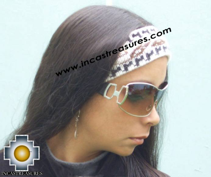 Alpaca Headband White