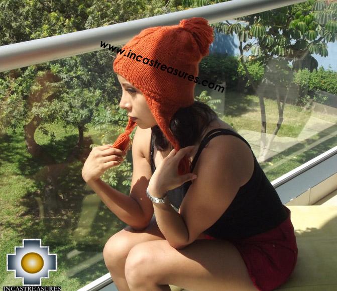 Alpaca Winter Hat tamba - available in 12 colors - Product id: Alpaca-Hats15-05