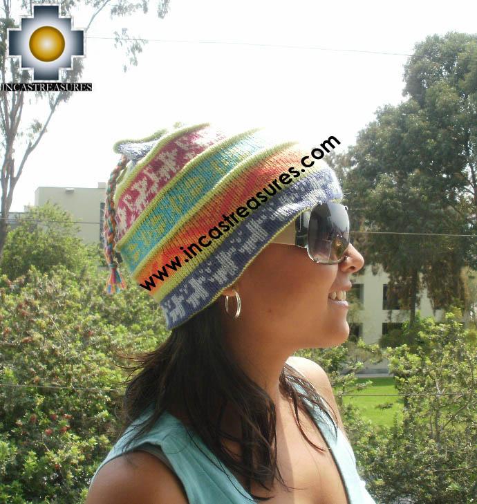 100% alpaca Winter hat Andenes